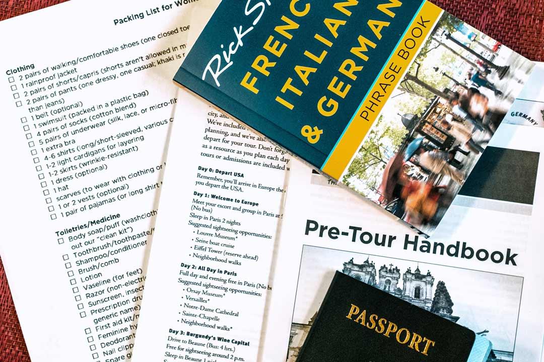 Travel info Europe