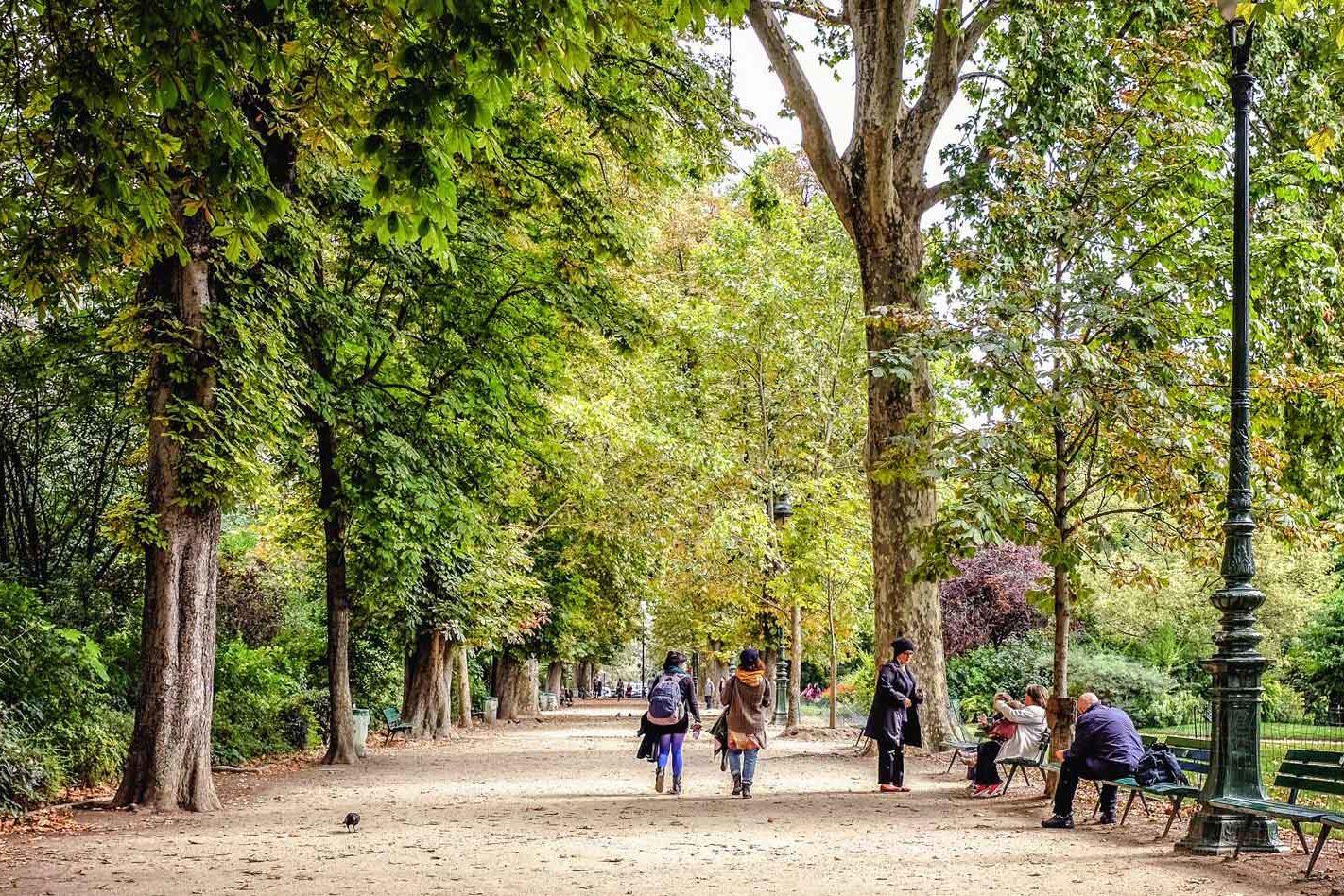 Champ de Mars Park Paris France