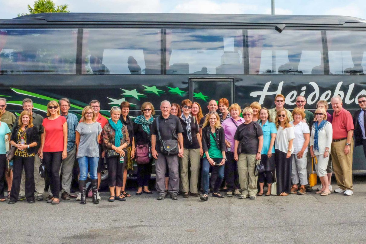 Rick Steves tour group